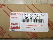 Genuine OEM Toyota Body Side Molding - Corolla (8S6) Nautical Blue Metallic