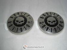 Harley Davidson skull tank emblèmes CVO tankembleme paire Mat 14100216 & 14100217