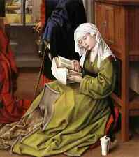 Weyden The Magdalene Reading A4 Print