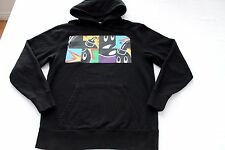 THE HUNDREDS SWEATS HOOD HOODIE ATHLETIC MEN'S SIZE L, BLACK
