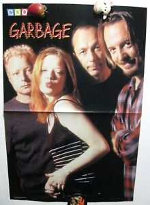 Garbage Shirley Manson magazine poster A3 16x11