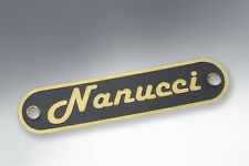 Lambretta Seat Badge NANUCCI