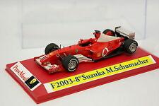 Provence Moulage Kit monté 1/43 - Ferrari F1 F2003 Suzuka GP Schumacher