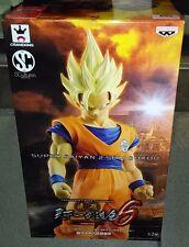 Banpresto DragonBall Z Budokai SCultures Big 6 Super Saiyan 2 Son Goku Gokou