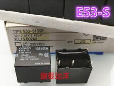 E53-S 24VDC E53-S1SSR Omron General Purpose Relay  1A 264VAC  4 Pins x 1PC NEW