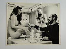 Sex Boat Show Copenhagen Denmark - Topless Women 1970 Press Photo