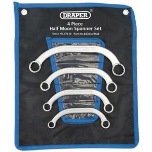 Draper Half Moon (Obstruction) Ring Spanner Set (4 Piece)