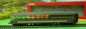 Hornby R4377 Devon Belle Observation Car with lights Pullman Coach boxed OO(f)
