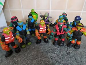 Teenage Mutant Ninja Turtles stealth tech and more TMNT figure 2012 bundle x12