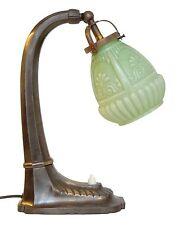 Edle original Jugendstil Nachttisch Klavierleuchte Klavierlampe um 1900