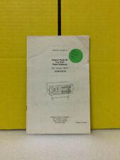 Addendum T00377 Simpson Model 467 True Rms Digital Multimeter Service Manual