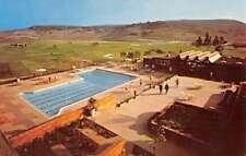 Rancho La Costa California Hotel And Spa Pool View Vintage Postcard K69956
