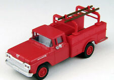 Classic Metal 1/87 HO 1960 Ford Utility Truck Monte Carlo Red 30461