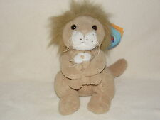 More details for chad valley lion soft toy mother cub cream brown comforter doudou
