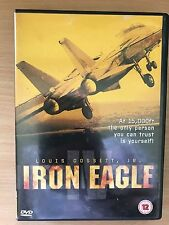 Lois Gossett Jr iron eagle 4 IV 1995 Top Gun-Style Acción Película Raro GB DVD
