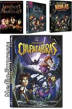 LA LEYENDA DEL CHUPACABRA, NAHUALA, LLORONA & MOMIAS 4 DVD BRAND NEW
