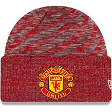 New Era Manchester United Two Tone Cuff Sport Knit Skull Cap Beanie Fitted Hat