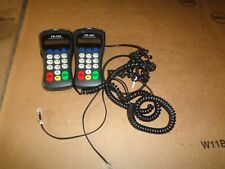 Lot Of 2 First Data Credit Card Pin Number Pad Fd-10C W/ Adapter