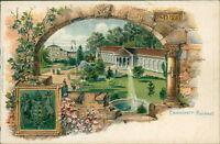 Ansichtskarte Cannstatt Kursaal Prägekarte um 1900 (Nr.716)