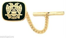 New Men's Freemason Gold Plated Masonic Scottish Rite Mason Tie Tac