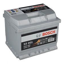BOSCH S5 001 52ah Premium Batería coche Batería ESTÁRTER PLATA Plus NUEVO