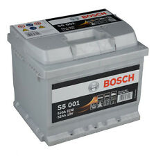 BOSCH S5 001 52Ah PREMIUM Autobatterie Starterbatterie Silver PLUS *NEU*