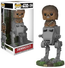 Pop Deluxe Star Wars 236 Chewbacca With At-st Funko Figure 70236