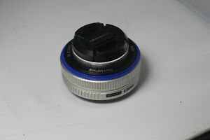 Olympus M. ZUIKO DIGITAL 17mm F2.8 lens for Micro Four Thirds
