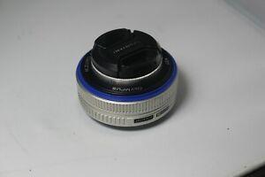 Olympus M. ZUIKO DIGITAL 17mm F2.8 lens for Micro Four Thirds
