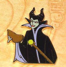RARE LE 250 Disney Pin✿Reflections Of Evil Storybook Villain MALEFICENT ONLY 13