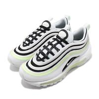 Nike Wmns Air Max 97 White Black Volt Women Running Shoes Sneakers 921733-105