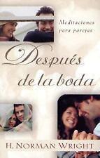 """Despues de la boda: Meditaciones para parejas: After You Say """"I Do"""":-ExLibrary"""