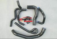 For Nissan Skyline GT-S/GT-T R33,R34 RB25DET Silicone Coolant Black Hose