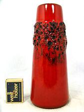 "70´s design WGP Kreutz Keramik  "" Fat Lava "" pottery vase  413 21 cm"