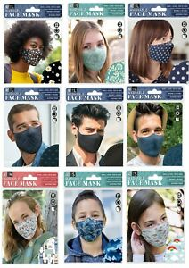 H & H - Reusable / Washable / Adjustable Cloth Face Masks - Face Coverings