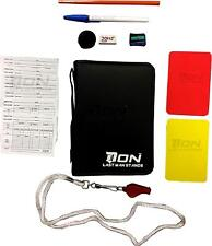 Referee Cards Red / Yellow Football Sport Wallet Notebook Pencil Soccer Game Kit