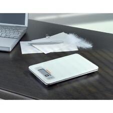 SOEHNLE Blanco Cristal Balanza de Cocina Electrónica Digital Táctil LCD con un peso postal