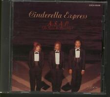 CINDERELLA EXPRESS A.S.A.P. 1992 JAPAN CD J.POP