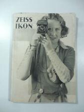 Zeiss Ikon. Apparecchi fotografici ed accessori Zeiss Ikon, 1933, catalogo