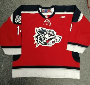 Jason Cassells - Elmira Jackals UHL Game Worn Ice Hockey Jersey