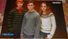 HARRY POTTER  Radcliffe Watson Grint - Magazine  Poster (A3)