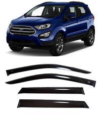 For Ford EcoSport l 5d 2014- Window Visors Side Sun Rain Guard Vent Deflectors