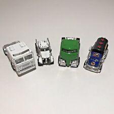 Matchbox Hot Wheels Die Cast Lot Fire Truck Big Rig Dump Truck Tanker Peterbilt