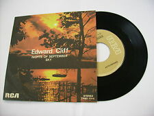 """EDWARD CLIFF - NIGHTS OF SEPTEMBER - 7"""" VINYL ITALY 1976 EXCELLENT"""