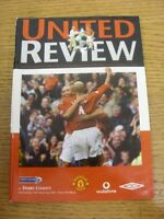 12/12/2001 Manchester United v Derby County  . Thanks for viewing our item, if t