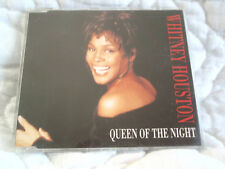 WHITNEY HOUSTON QUEEN OF THE NIGHT CD SINGLE 2 TRACK PROMO BODYGUARD SOUNDTRACK