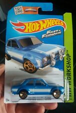 Hot wheels '70 FORD ESCORT RS1600 FAST FURIOUS first edition