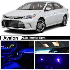 17x Blue LED Lights Interior Package Kit for 2013-2016 Toyota Avalon