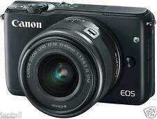 "Canon EOS M10 15-45mm 18mp 3"" Mirrorless Digital Camera Brand New Jeptall D10"