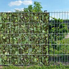 Bedruckte Sichtschutzstreifen Doppelstabmattenzaun + Klemmschienen - Teilstellen
